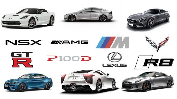 logo voiture de sport