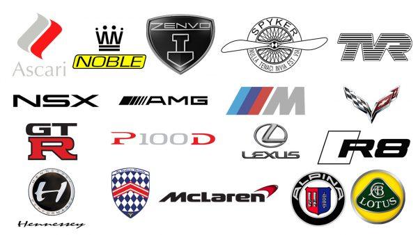 voitures de sport