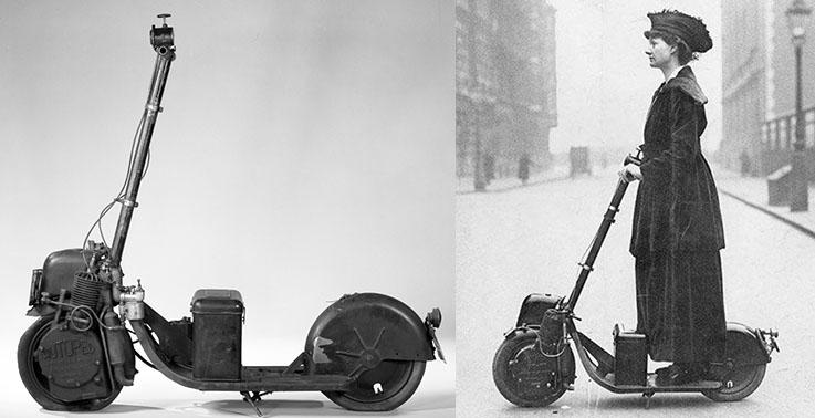 Histoire de scooters