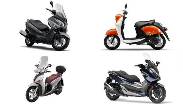 Marque de scooter japonais