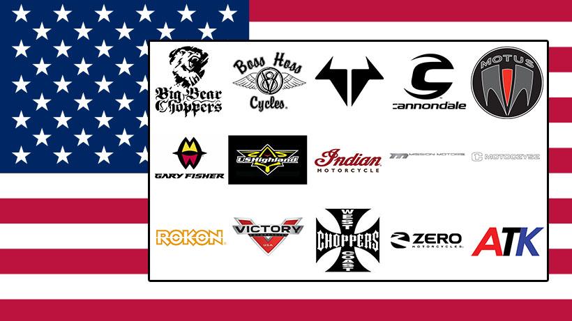 Marques de motos américaines
