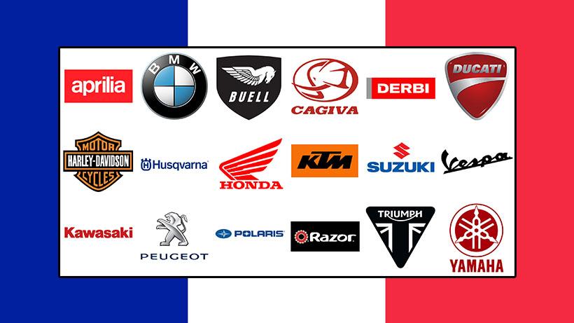 Marques de motos de la France
