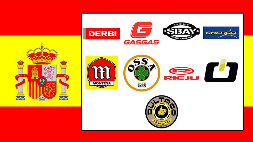 Marques de motos espagnoles