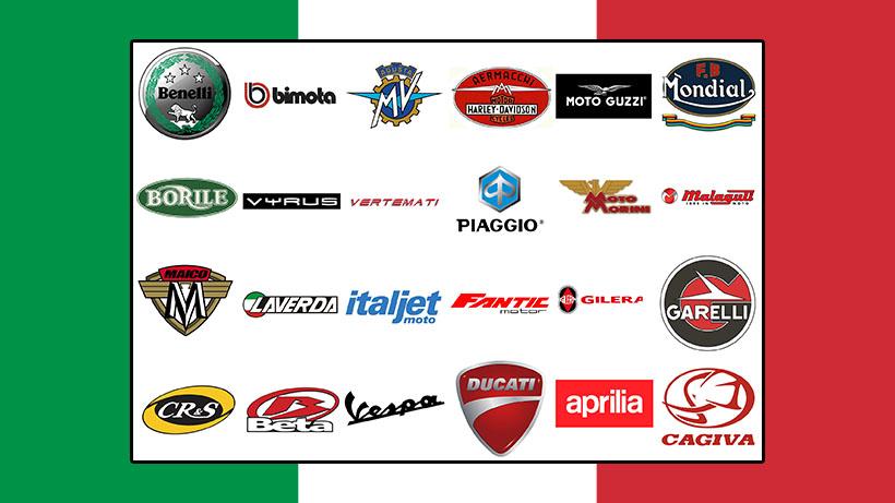 Marques de motos italiennes
